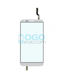 Digitizer Touch Glass Panel Replacement for LG G2 D800 White
