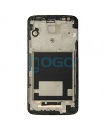 Front Housing Bezel Replacement for LG G2 D800 - Black