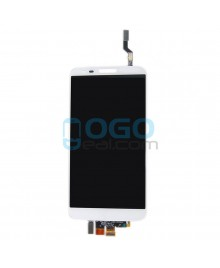 LCD & Digitizer Touch Screen Assembly Replacement for LG G2 D801 T-Mobile - White