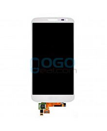 OEM LCD & Digitizer Touch Screen Assembly Replacement for lg G2 Mini - White