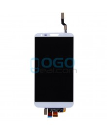 LCD & Digitizer Touch Screen Assembly Replacement for lg G2 VS980 - White
