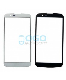Front Outer Screen Glass Lens Replacement for lg K10 - White
