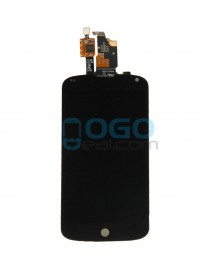 LCD & Digitizer Touch Screen Assembly Replacement for Google Nexus 4 E960 - Black