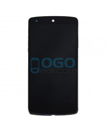 LCD & Digitizer Touch Screen Assembly With Frame replacement for Google Nexus 5 D820 D821  - Black