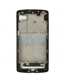 Front Housing Bezel Replacement for Google Nexus 5 D820 D821 - Black