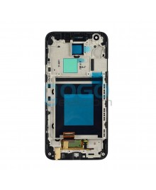 LCD & Digitizer Touch Screen Assembly with frame Replacement for lg Nexus 5X - Black