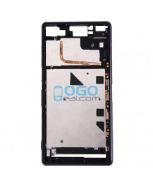 Front Housing Replacement for Sony Xperia Z3 - Black