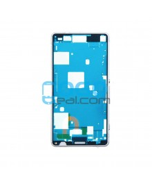 Front Housing Bezel Replacement for Sony Xperia Z3 Compact/Z3 Mini - White