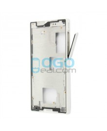 Front Housing Bezel Replacement for Sony Xperia Z5 Compact/Mini - White