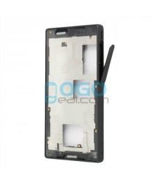 Front Housing Bezel Replacement for Sony Xperia Z5 Compact/Mini - Black