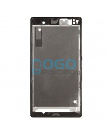 Front Housing Bezel Replacement for Sony Xperia Z L36H - Black