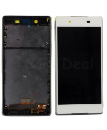 For Sony Xperia Z3 + /Z4 LCD & Touch Screen Assembly With Frame Replacement- White