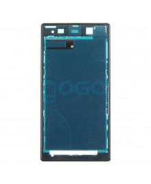 Front Housing Bezel Replacement for Sony Xperia Z1 L39H - Black