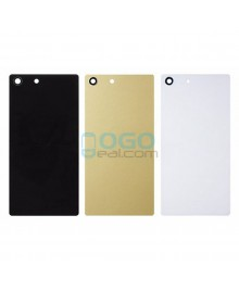 OEM Battery Door/Back Cover Replacement for Sony Xperia M5 E5603 Black