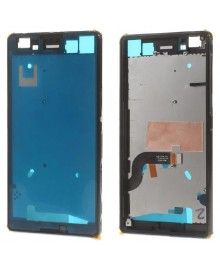 OEM Front Housing Bezel Replacement for Sony Xperia M5 E5603 - Black