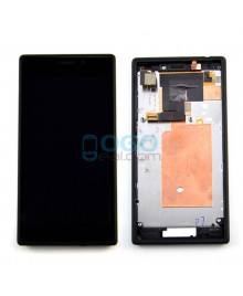For Sony Xperia M2 D2303 LCD & Touch Screen Assembly With Frame Replacement- Black