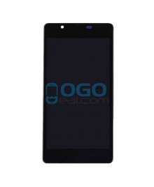 LCD & Digitizer Touch Screen Assembly With Frame replacement for Nokia Microsoft Lumia 540 - Black
