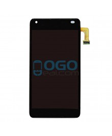 LCD & Digitizer Touch Screen Assembly With Frame replacement for Nokia Microsoft Lumia 550 - Black