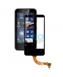 Digitizer Touch Glass Panel Replacement for Nokia Lumia 620 Black