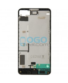 Front Housing Bezel Replacement for Nokia Lumia 630 - Black