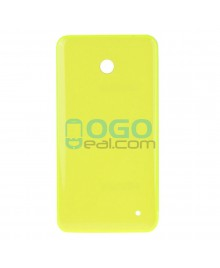 Battery Door/Back Cover Replacement for Nokia Lumia 635 - Yellow