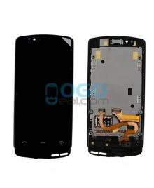 LCD & Digitizer Touch Screen Assembly With Frame replacement for Nokia Lumia 700 - Black