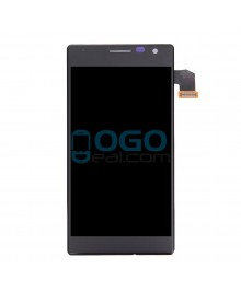 LCD & Digitizer Touch Screen Assembly Replacement for Nokia Lumia 730 - Black