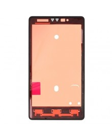 Front Housing Bezel Replacement for Nokia Lumia 820 - Black