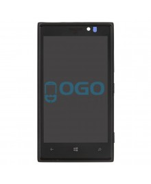LCD & Digitizer Touch Screen Assembly With Frame replacement for Nikia Lumia 925 - Black
