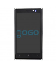 LCD & Digitizer Touch Screen Assembly With Frame replacement for Nikia Lumia 925 - Silver