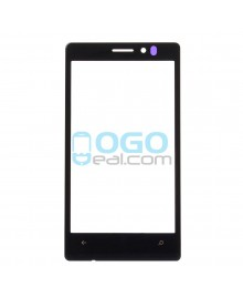 Front Outer Screen Glass Lens Replacement for Nikia Lumia 925 - Black