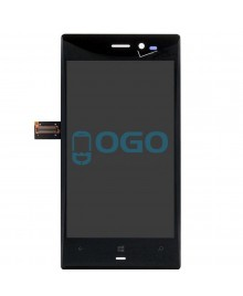 LCD & Digitizer Touch Screen Assembly Replacement for Nokia Lumia 928 - Black