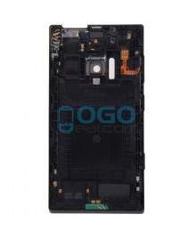 Battery Door/Back Cover Replacement for Nokia Lumia 928 - Black