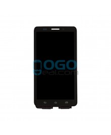 LCD & Digitizer Touch Screen Assembly With Frame replacement for Motorola Droid Maxx XT1080M - Black