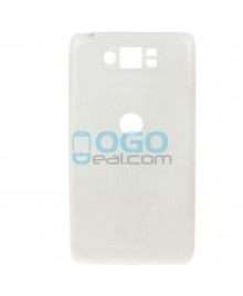 Battery Door/Back Cover Replacement for Motorola Droid Mini XT1030 - White