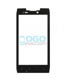Front Outer Screen Glass Lens Replacement for Motorola Droid Razr XT912 - Black