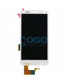 LCD & Digitizer Touch Screen Assembly Replacement for Motorola Droid Turbo 2 - White