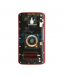 Midframe Assembly Replacement for Motorola Droid Turbo 2 - Red