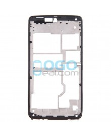 Front Housing Bezel Replacement for Motorola Droid Turbo XT1254 - Black