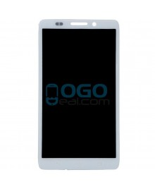 LCD & Digitizer Touch Screen Assembly Replacement for Motorola Droid Ultra XT1080 - White