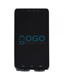 LCD & Digitizer Touch Screen Assembly With Frame replacement for Motorola Droid Ultra XT1080 - Black