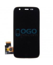 LCD & Digitizer Touch Screen Assembly With Frame replacement for Motorola Moto G - Black