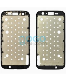 Front Housing Bezel Replacement for Motorola Moto G - Black