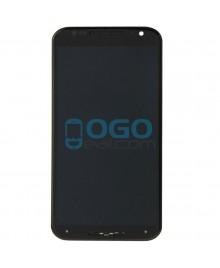 LCD & Digitizer Touch Screen Assembly With Frame replacement for Motorola Moto X (2nd Gen) - Black