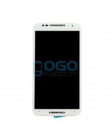 LCD & Digitizer Touch Screen Assembly With Frame replacement for Motorola Moto X (2nd Gen) - White