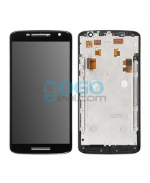 LCD & Digitizer Touch Screen Assembly With Frame replacement for Motorola Moto X Play XT1561 XT1562 XT1563 - Black