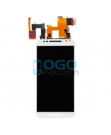 LCD & Digitizer Touch Screen Assembly Replacement for Motorola Moto X Style - White