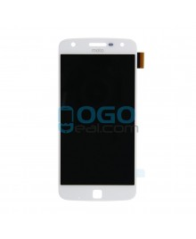 OEM LCD & Digitizer Touch Screen Assembly Replacement for Motorola Moto Z Play - White