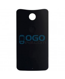 Battery Door/Back Cover Replacement for Google Nexus 6 - Black