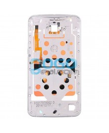 Front Housing Bezel Replacement for Google Nexus 6 - White
